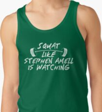 Squat Like Stephen Amell Is Watching Tank Top