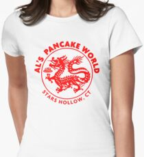Al's Pancake World Women's Fitted T-Shirt