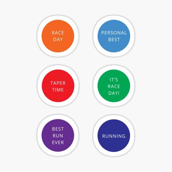 Running calendar / training diary / planner Sticker