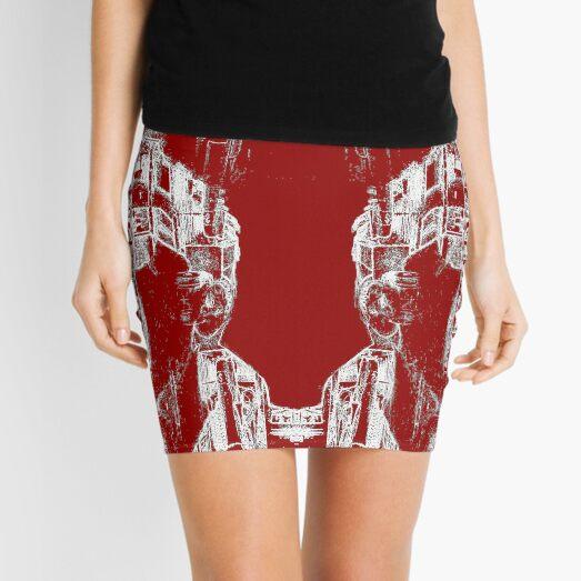 Heron vs Heron Outtake Mini Skirt