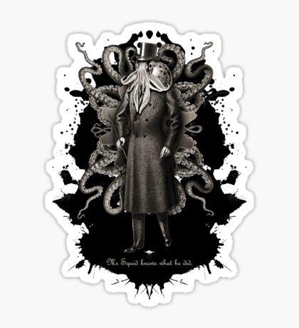 Mr Squid Sticker