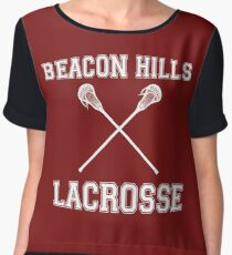 Beacon Hills Lacrosse Women's Chiffon Top