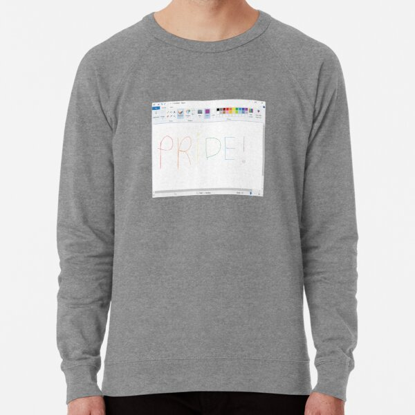 Pride! Paint Lightweight Sweatshirt