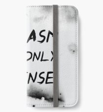 Sarcasm Is My Only Defense iPhone Wallet/Case/Skin