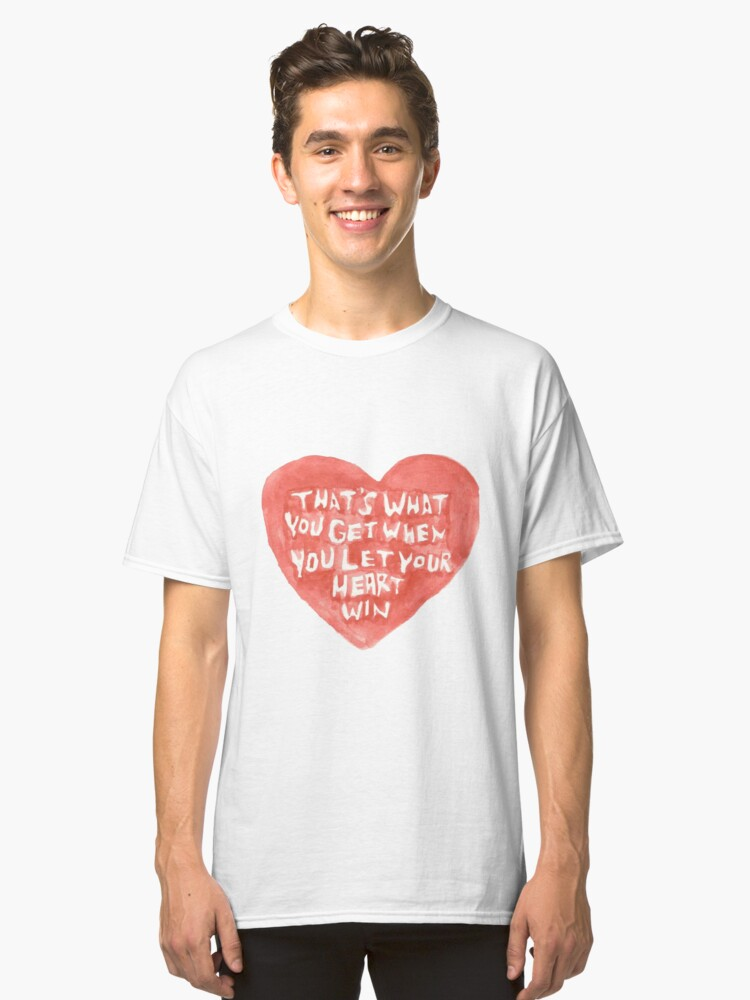 heart Classic T-Shirt Front
