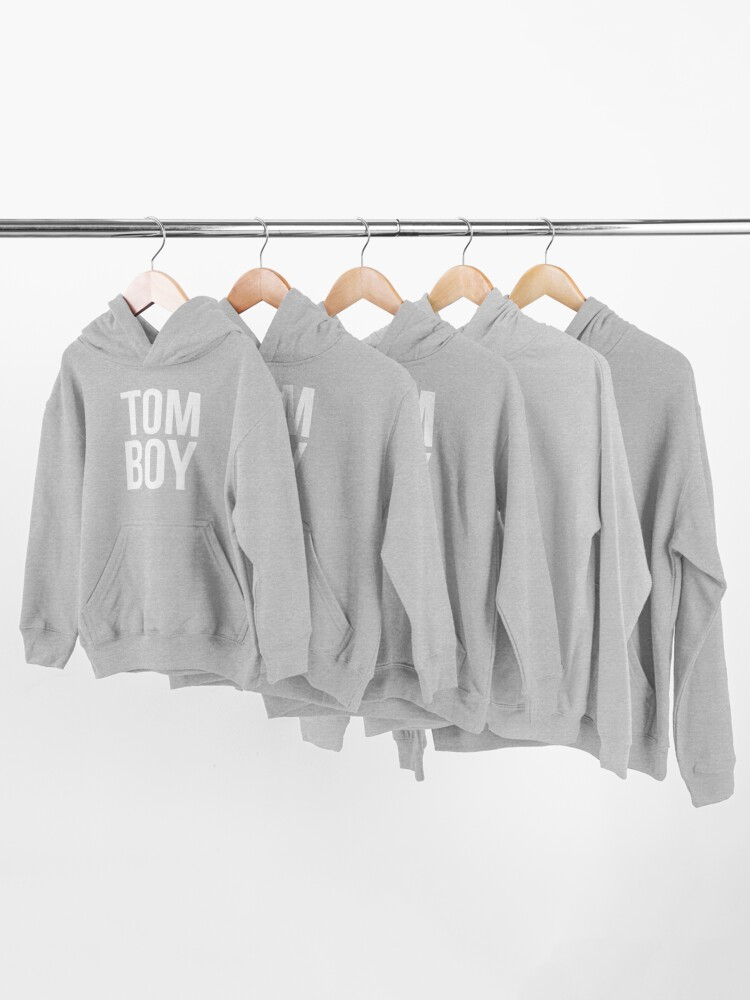 Alternate view of Tom Boy T Shirt Kids Pullover Hoodie