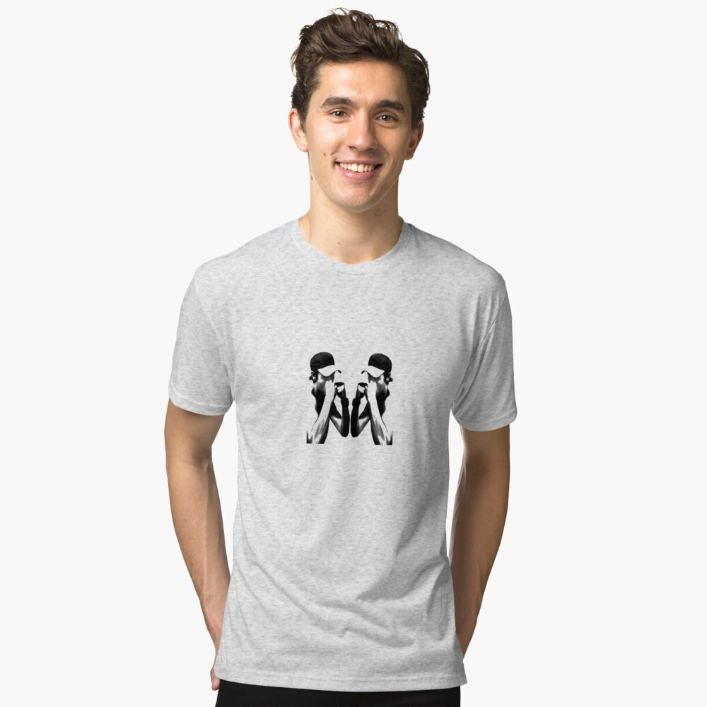 Heron vs Heron - Artwork Tri-blend T-Shirt