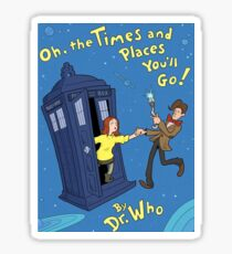 doctor who - amy pond  Sticker