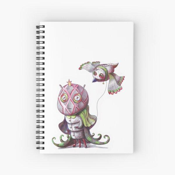 Pet paddock Spiral Notebook