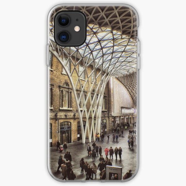 Kings Cross Station iPhone Soft Case