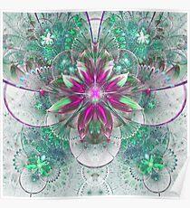 Light Flower - Abstract Fractal Artwork Poster