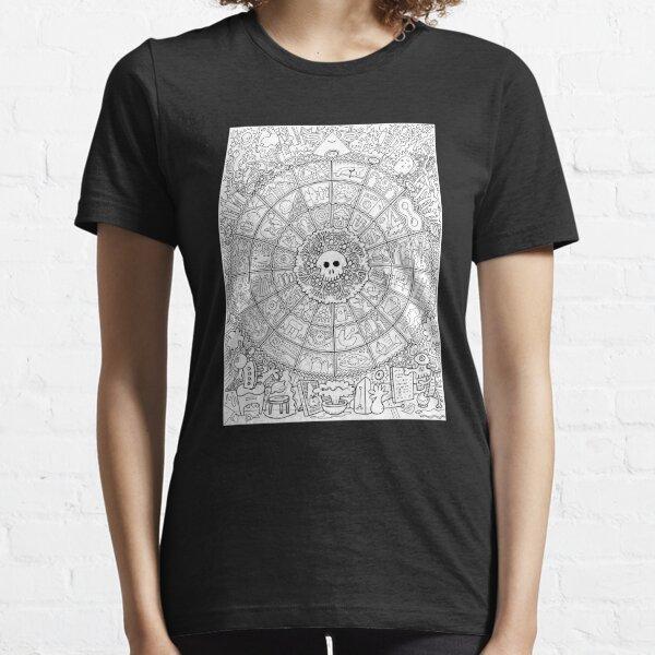 Skull Mandala Essential T-Shirt