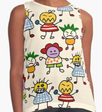 Paper Doll Contrast Tank