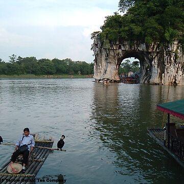 Guilin's Elephant Trunk Hill by teaguy
