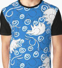 Elefantes en Azul by VIXTOPHER Graphic T-Shirt