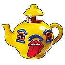 Happy Yellow Teapot by JoelCortez