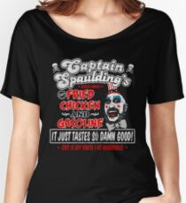 Captain Spaulding Fried Chicken & Gasoline Women's Relaxed Fit T-Shirt