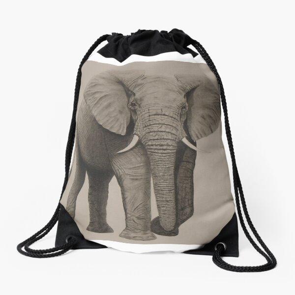 Emmaphant Drawstring Bag