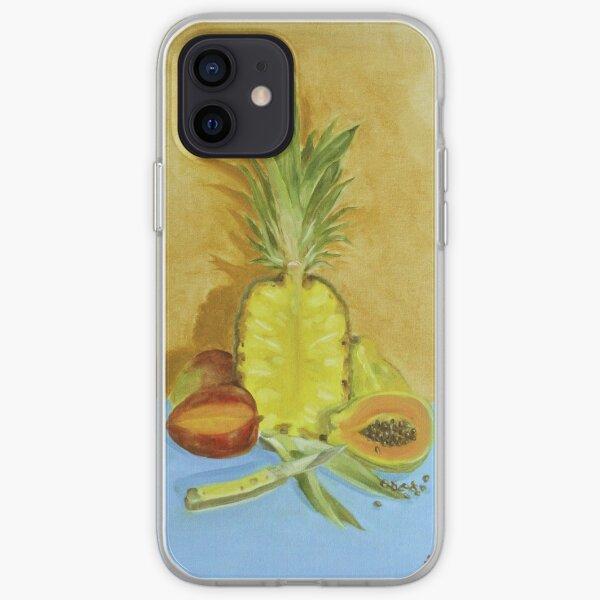 Fruta Y Cuchillo iPhone Soft Case