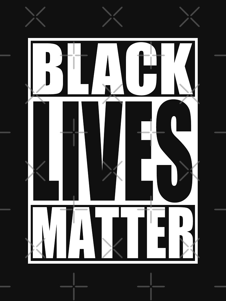 Black Lives Matter t shirt by EthosWear