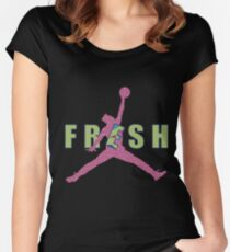 Fresh Prince Jumpman Women's Fitted Scoop T-Shirt
