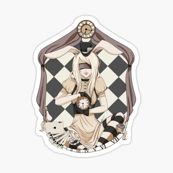 Alice in Cameo Sticker