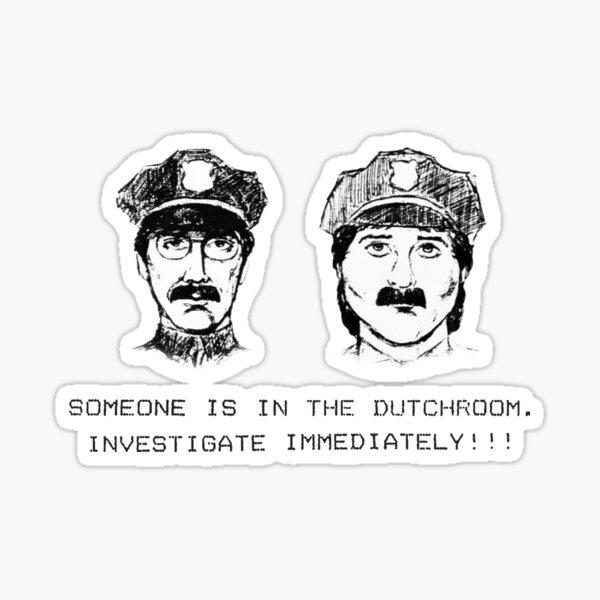 Gardner Heist Sketches Sticker