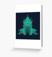 Cthulhu Graphic Greeting Card