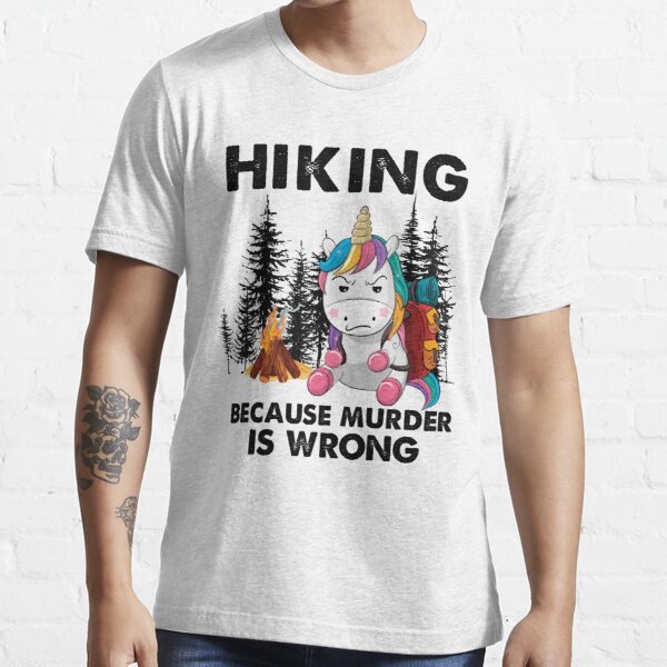 Mountains Outdoors Life Is A Journey Mountaineers Wht Adventure Lover Men/'s Cotton T-shirt