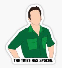 Jeff Probst 3 Sticker