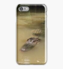 Swamp Gator iPhone Case/Skin