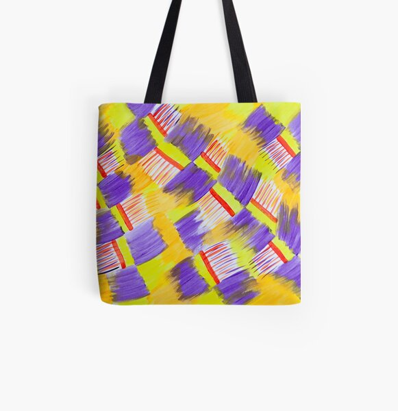 Feather Duster All Over Print Tote Bag