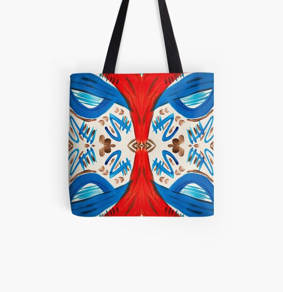 Out On The High Seas All Over Print Tote Bag