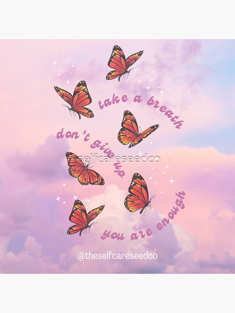 Magical Butterflies by selfcareseedco