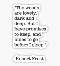 Robert Frost Stickers Redbubble