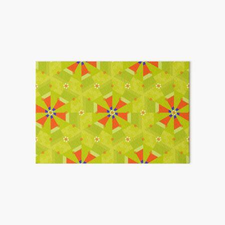 Spring Geometry Art Board Print