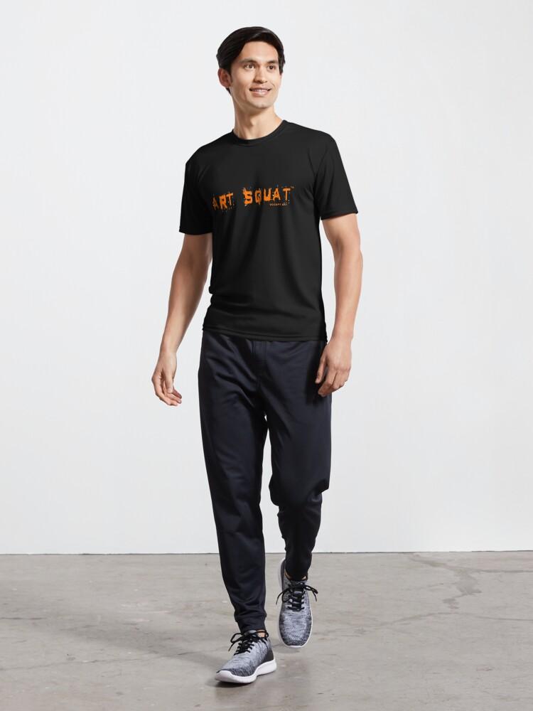 Alternate view of Art Squat Original Active T-Shirt