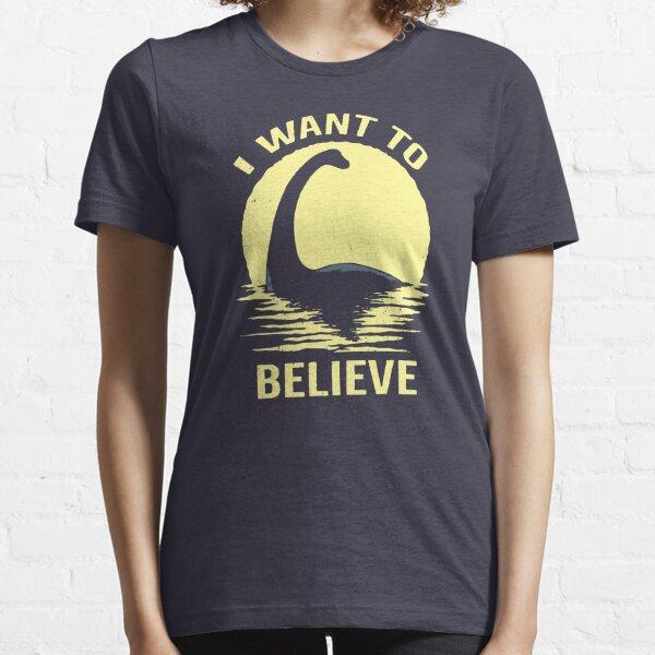 Believe In Nessie Essential T-Shirt