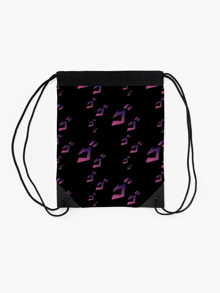 Alternate view of Jojo MENACING ゴゴゴ ( Jojo's Bizarre Adventure ) Drawstring Bag