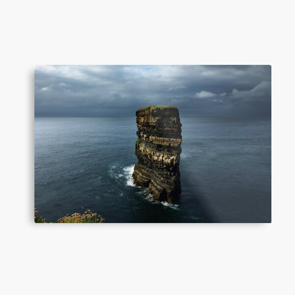 Dun Briste Sea Stack Metal Print