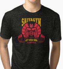 Super Saiya-Gym Tri-blend T-Shirt