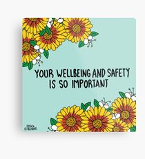 Your Wellbeing Metal Print