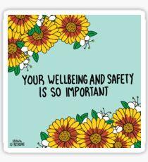 Your Wellbeing Sticker