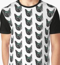 CATS AGAINST CANADIAN COPS Graphic T-Shirt