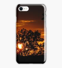 Golden Sunsetting iPhone Case/Skin
