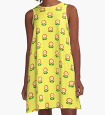 Super Mario Bros. Fire Flower A-Line Dress