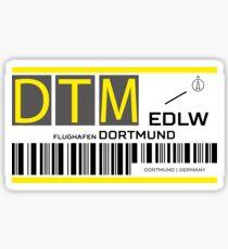 Destination Dortmund Airport Sticker