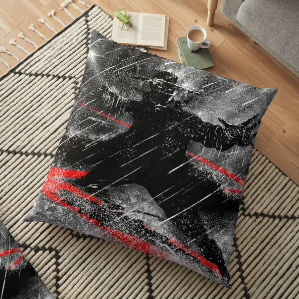 Zorro The long Storm  Floor Pillow
