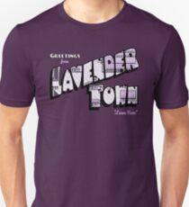 Camiseta ajustada Saludos desde Lavender Town