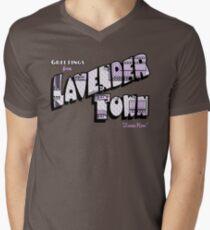 Greetings from Lavender Town Men's V-Neck T-Shirt